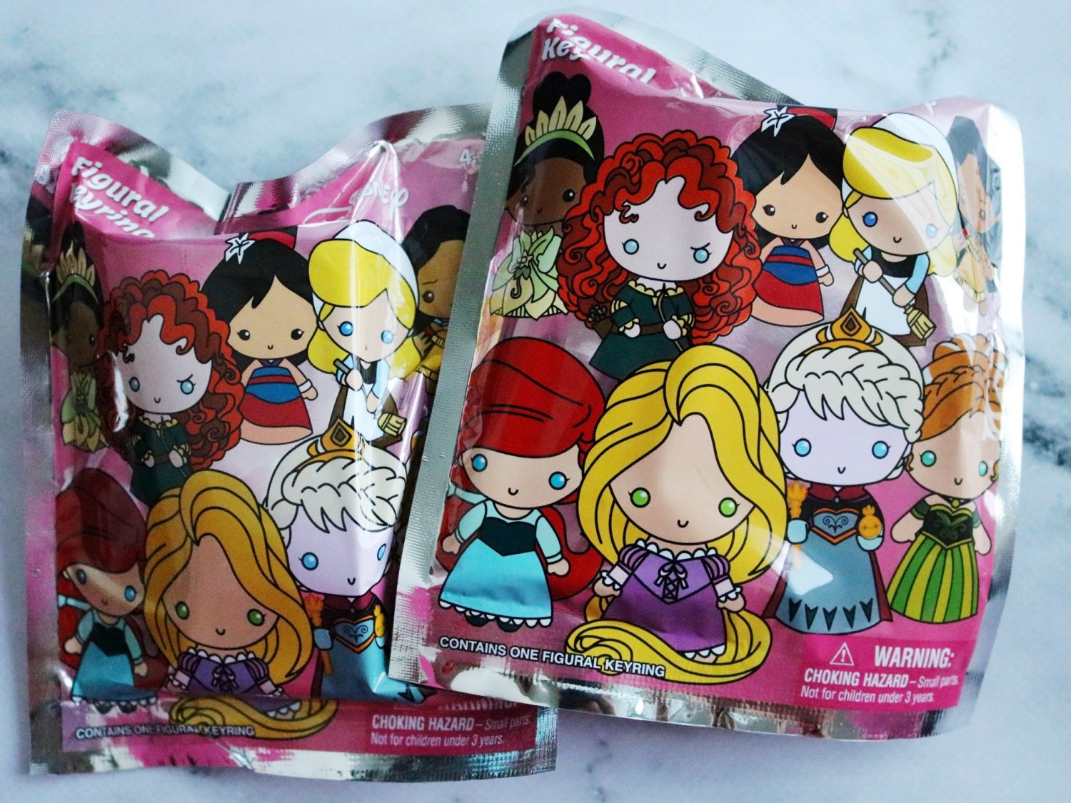 Disney Princess Series 7 Figural Keyrings