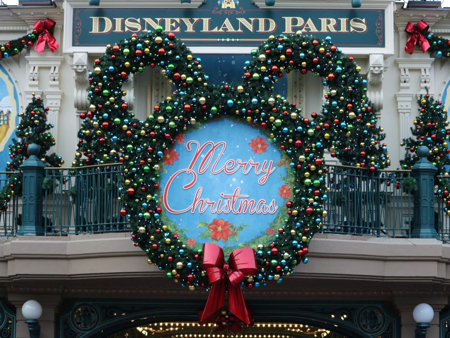 Christmastime at Disneyland Paris