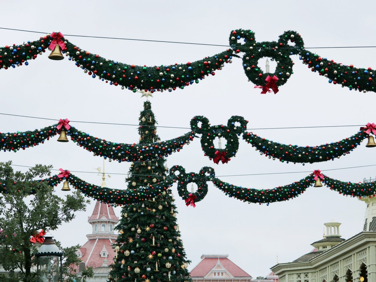 Disneyland Paris Christmas Wreaths