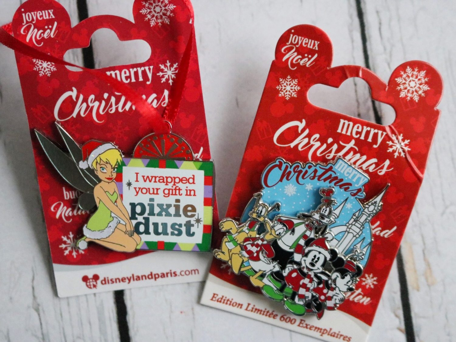 Disneyland Paris LE Christmas Pin