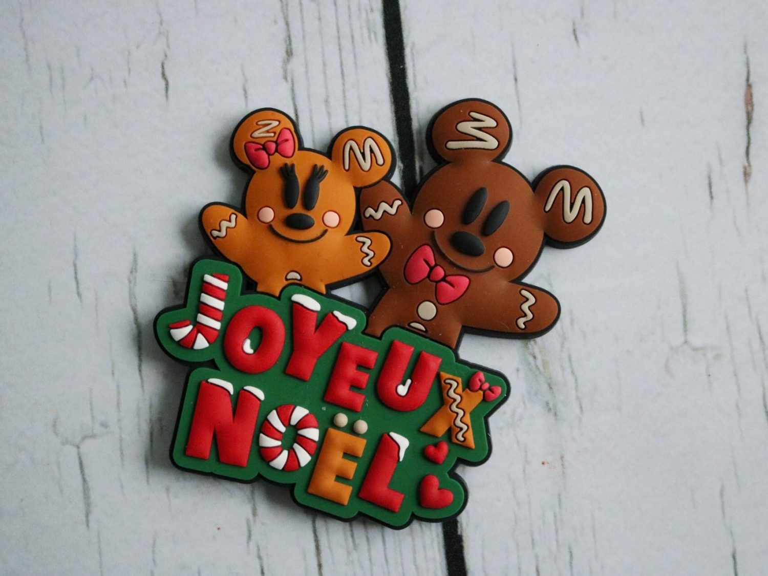 Disneyland Paris Joyeux Noel Mickey Gingerbread Magnet