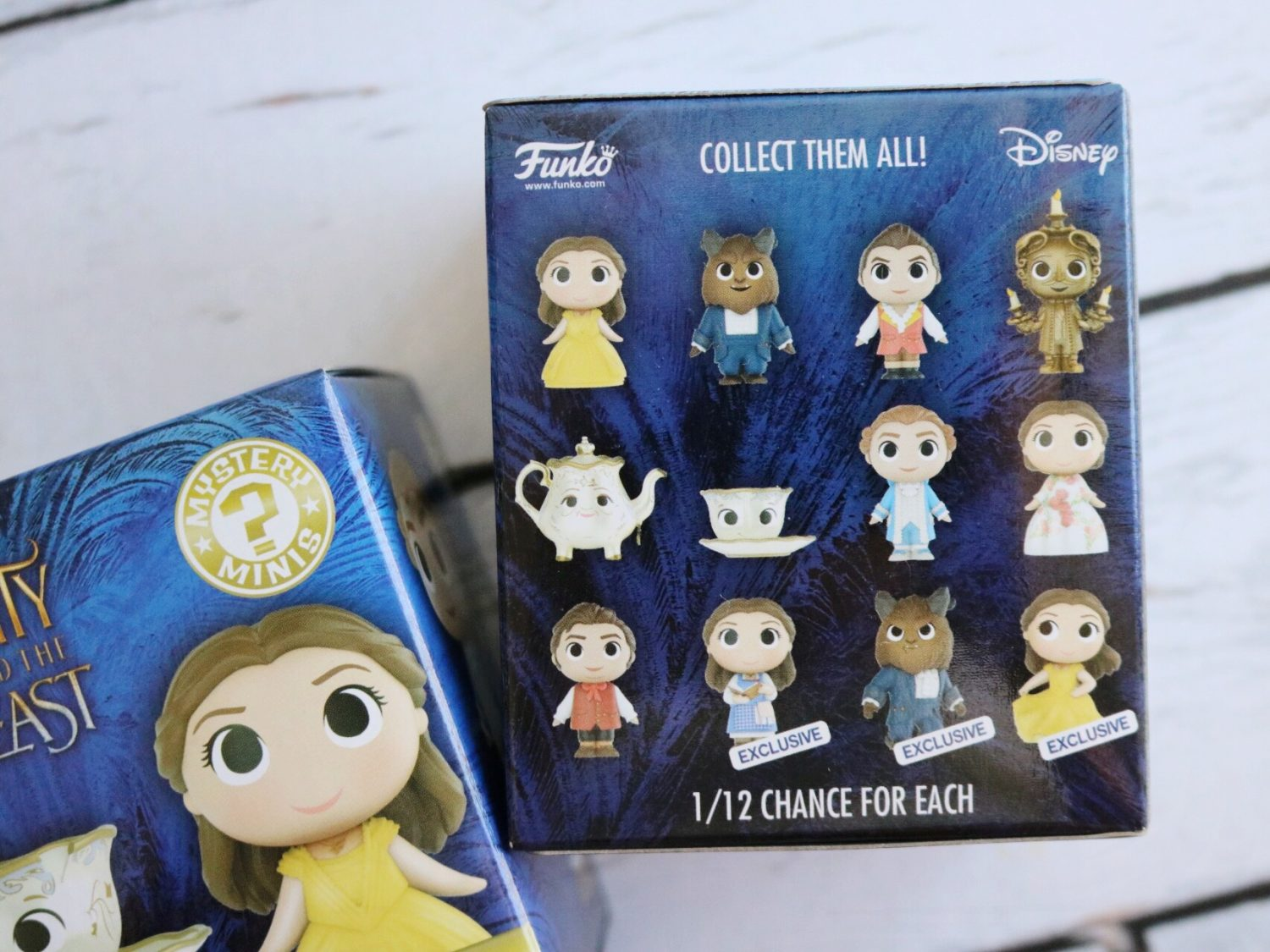 Beauty and the Beast Mystery Minis