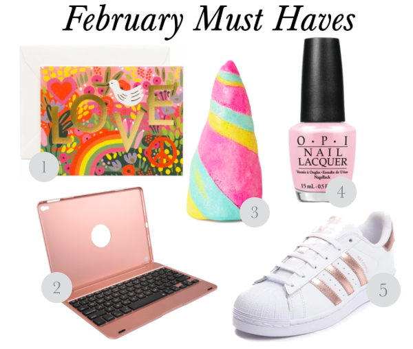 Valentine's Day Must Haves