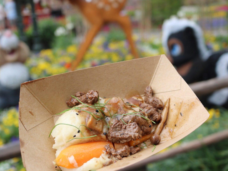 Epcot International Flower and Garden Festival Beef Tenderloin Tips