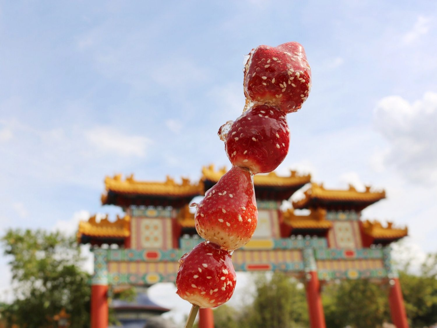 Epcot International Flower and Garden Festival Beijing-Style Candied Strawberries