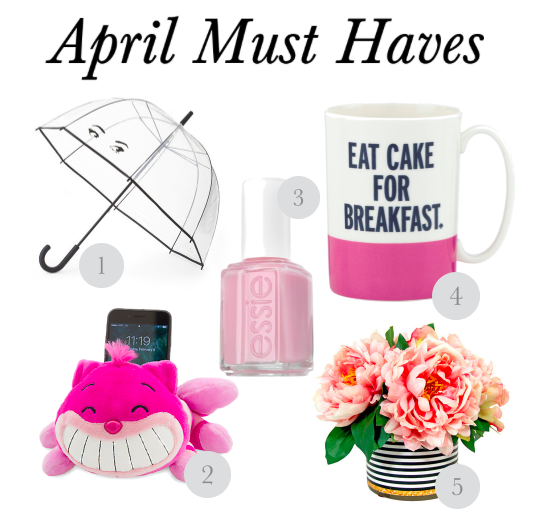 April Must Haves