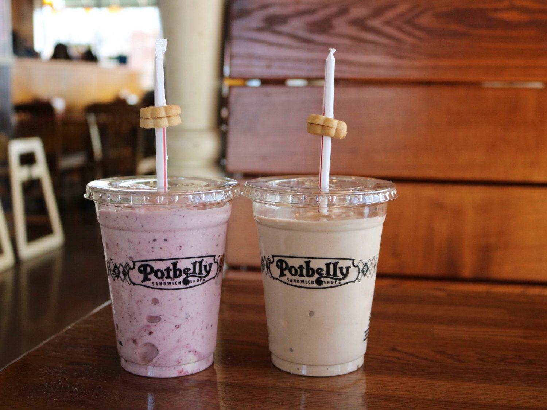 Potbelly Chocolate Milkshake