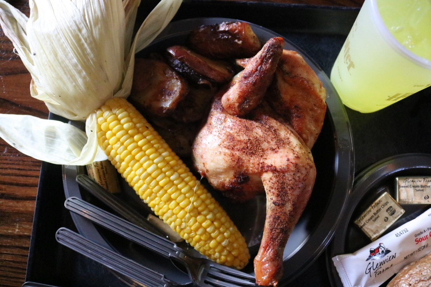 Three Broomsticks Rotisserie Smoked Chicken Platter