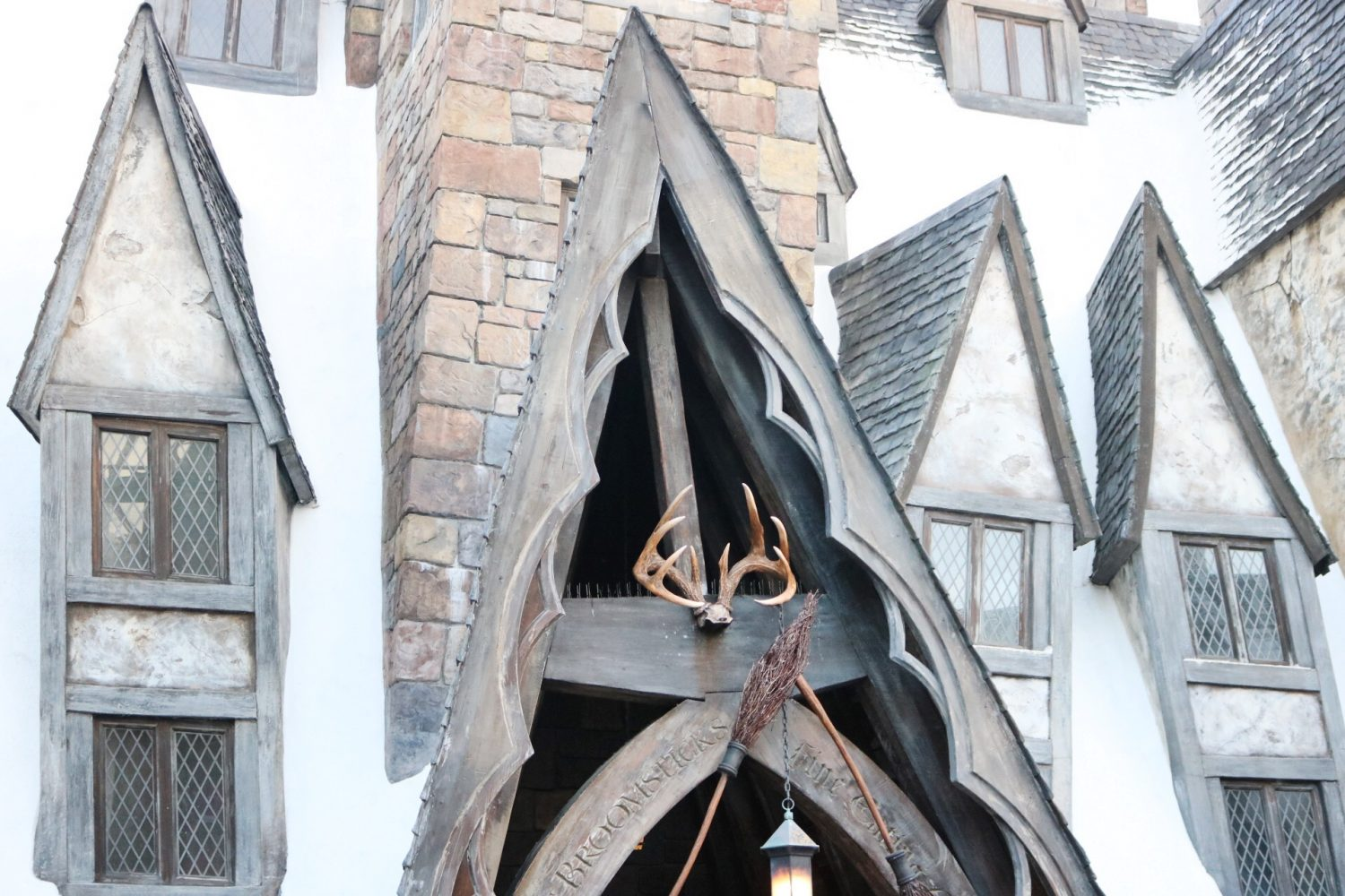 The Three Broomsticks Wizarding World of Harry Potter