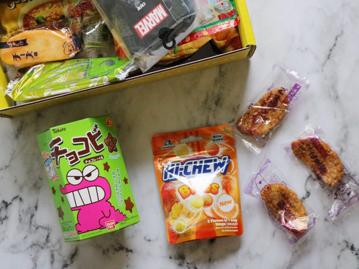 Monthly Asian Mystery Snack Box