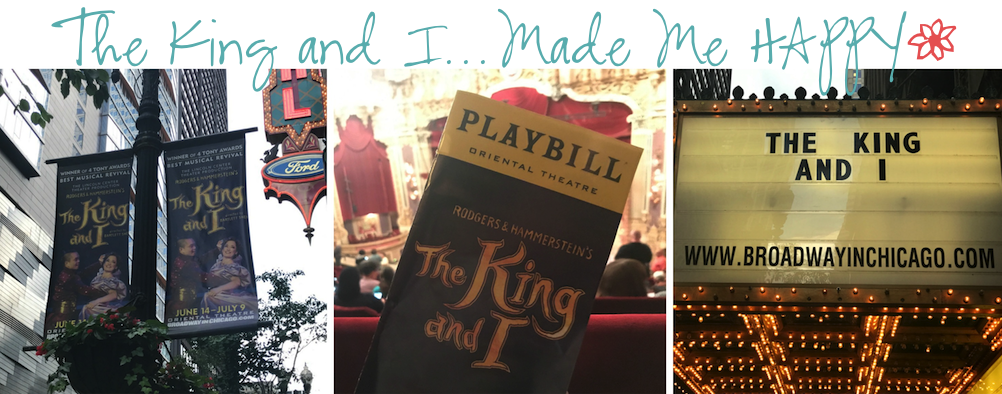 The King and I Musical Chicago