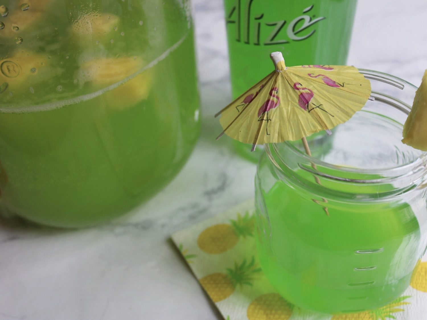 Alizé Apple Hawaiian Fizz Recipe