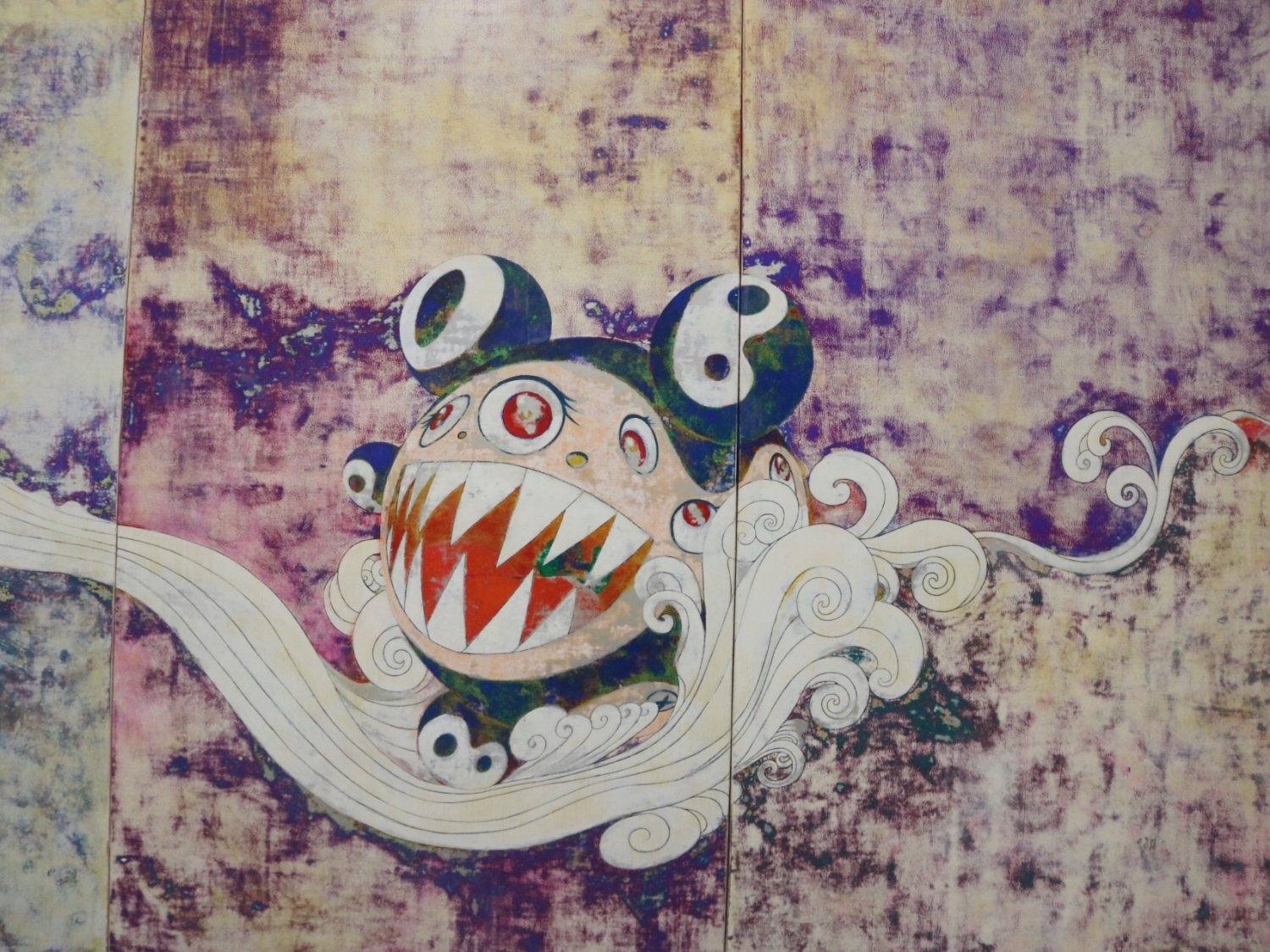 Takashi Murakami: The Octopus Eats its Own Leg Exhibit