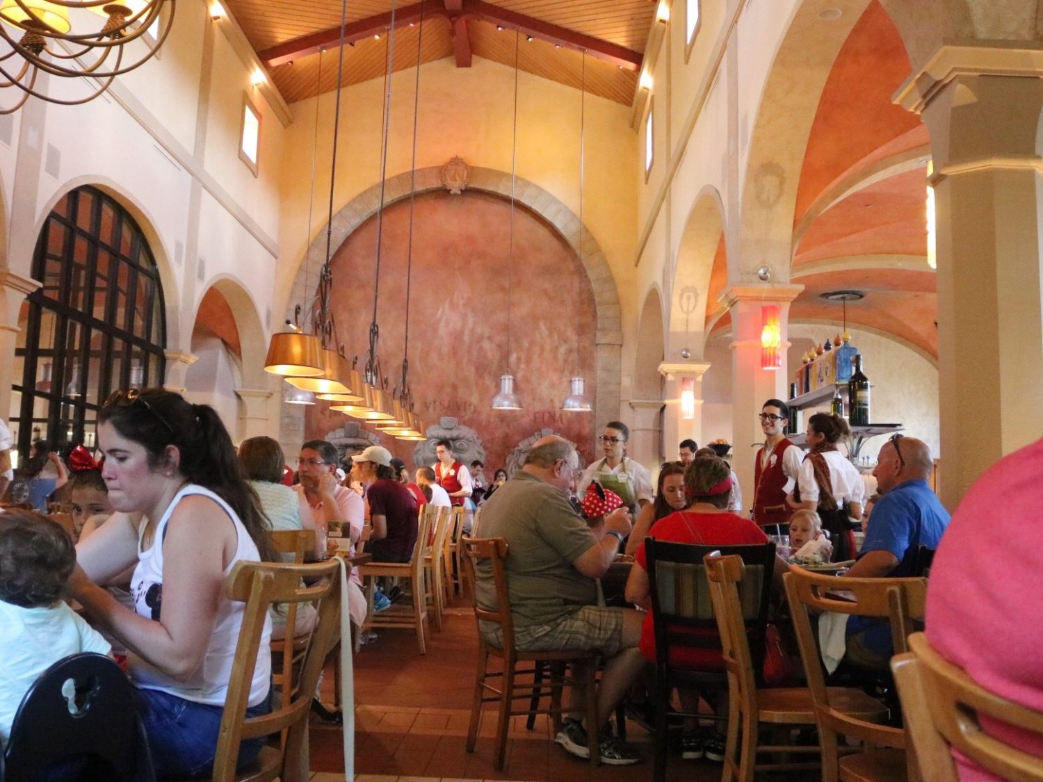 Via Napoli Ristorante e Pizzeria in Epcot at Walt Disney World