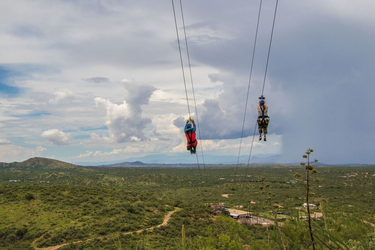 Zip Lining in Tucson