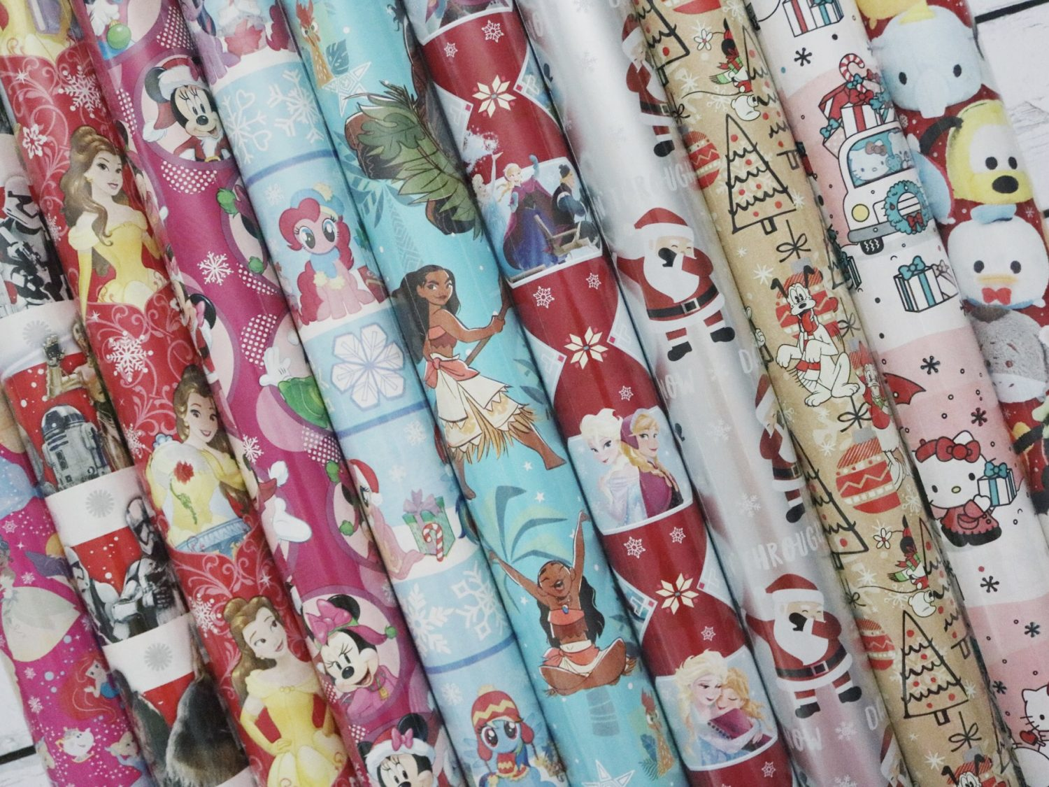 Disney Christmas Wrapping Paper