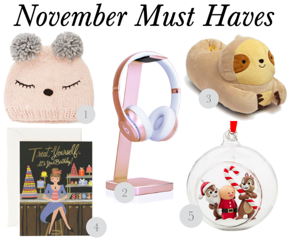 Must Have: November 2017