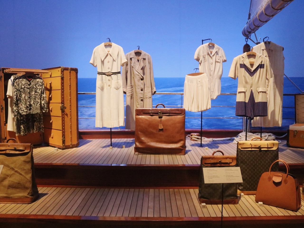 "Louis Vuitton ""Volez, Voguez, Voyagez"" Exhibition in New York City"