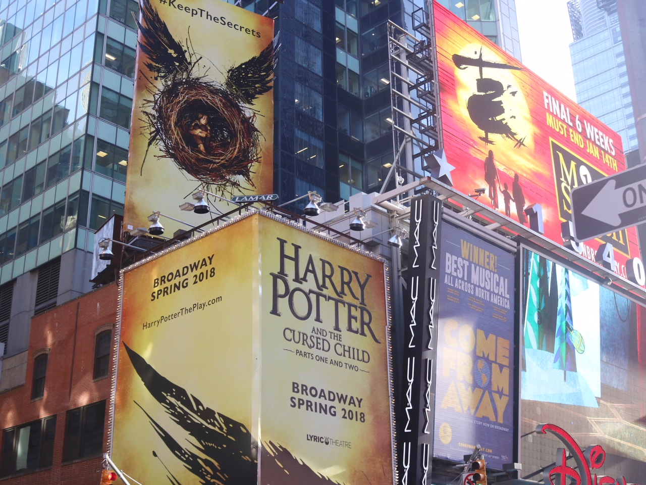 Harry Potter and the Cursed Child Broadway NYC