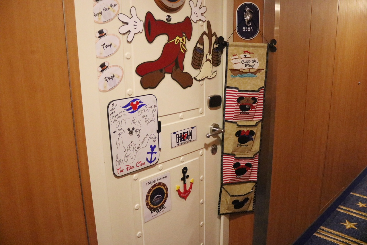 Decorating Disney Cruise Line Stateroom Door