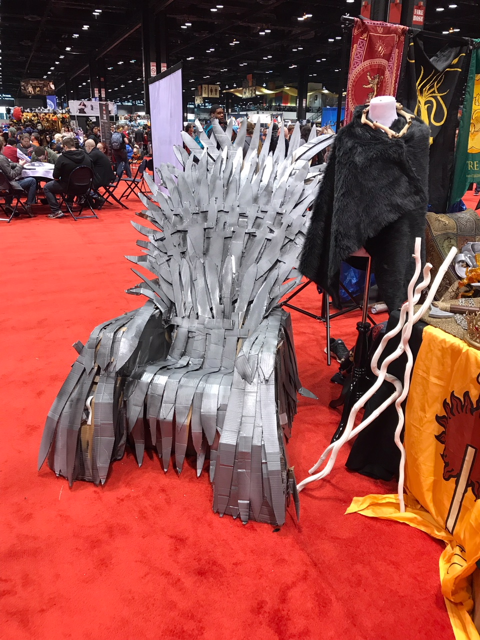 Homemade DIY Game of Thrones Iron Throne