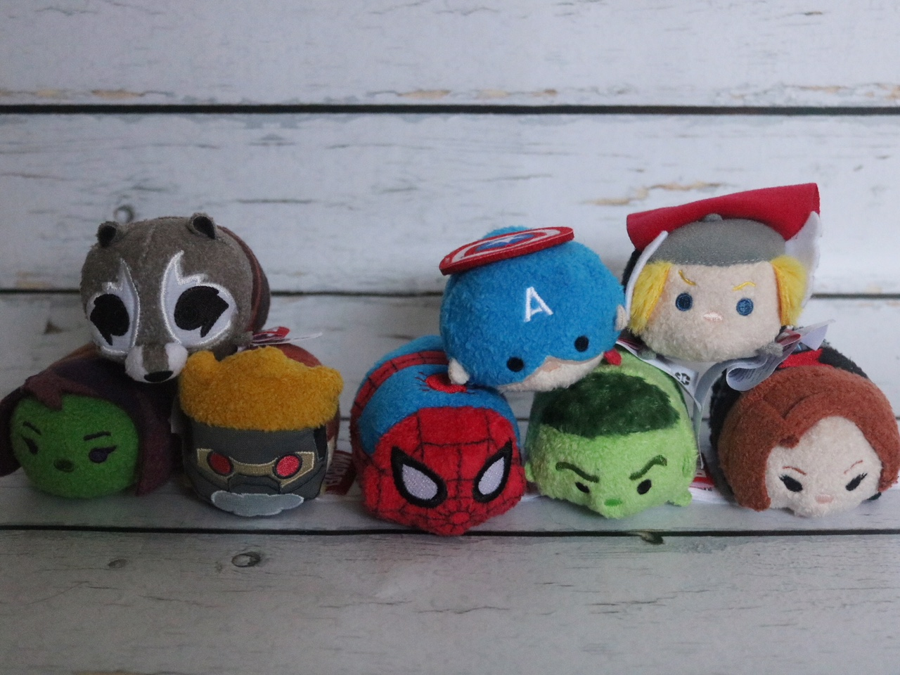 Tsum Tsum Marvel Set