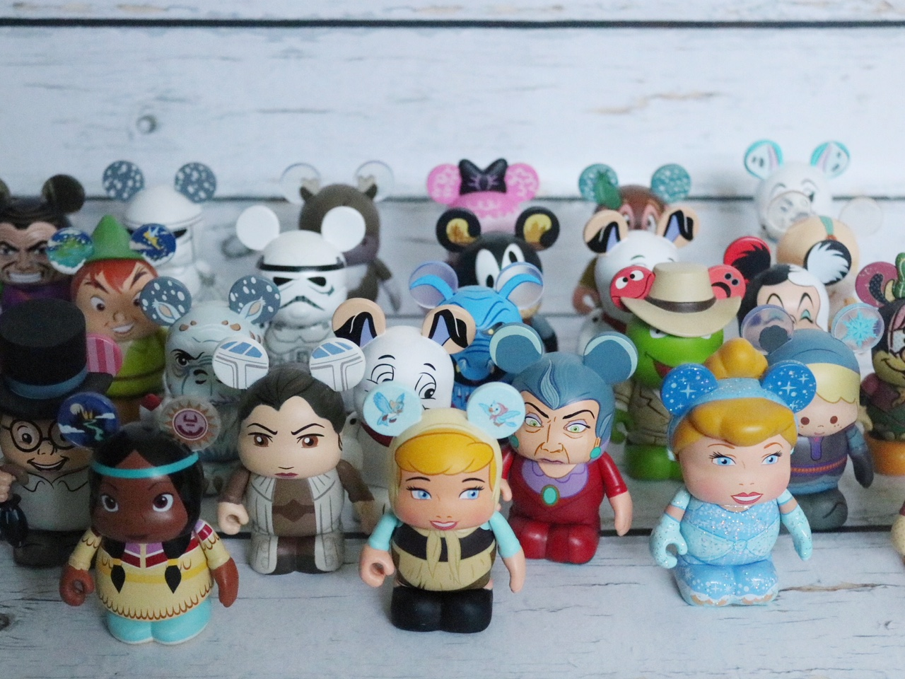 Disney vinylmation collection