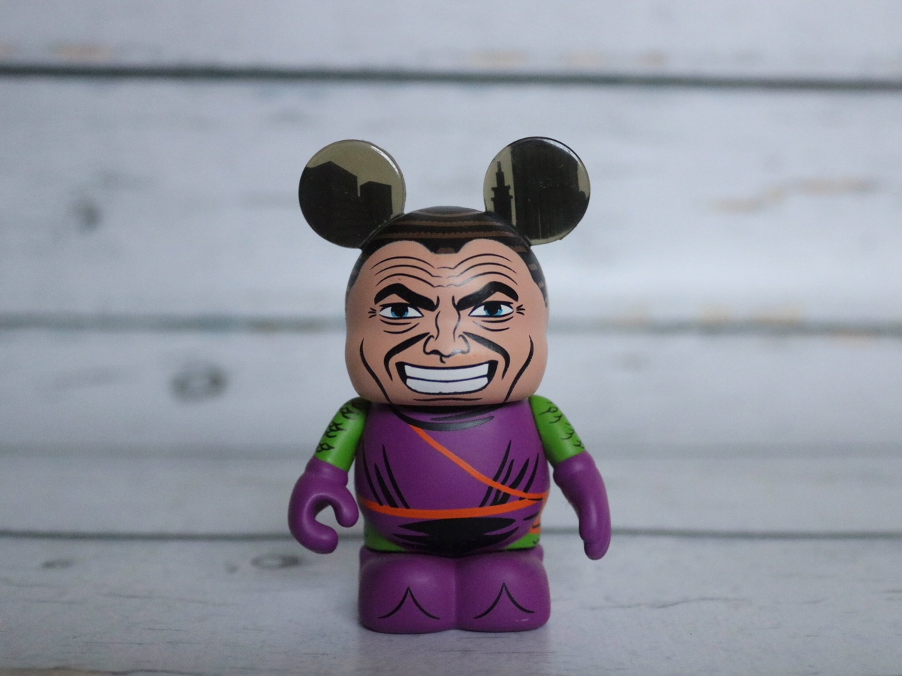 Disney Vinylmation Unmasked Green Goblin