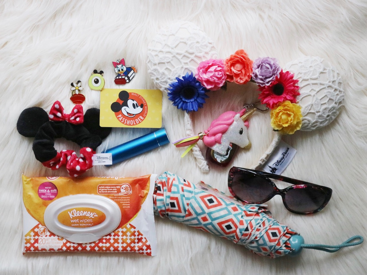 What's in My Disney Parks Bag