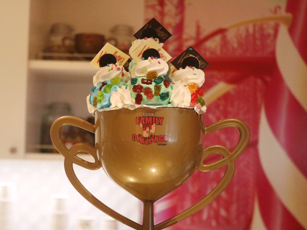 Vanellope's Sweets and Treats Ralph's Family Challenge