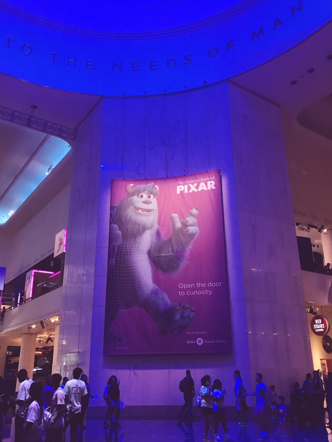 The Science Behind Pixar at The Museum of Science and Industry‎