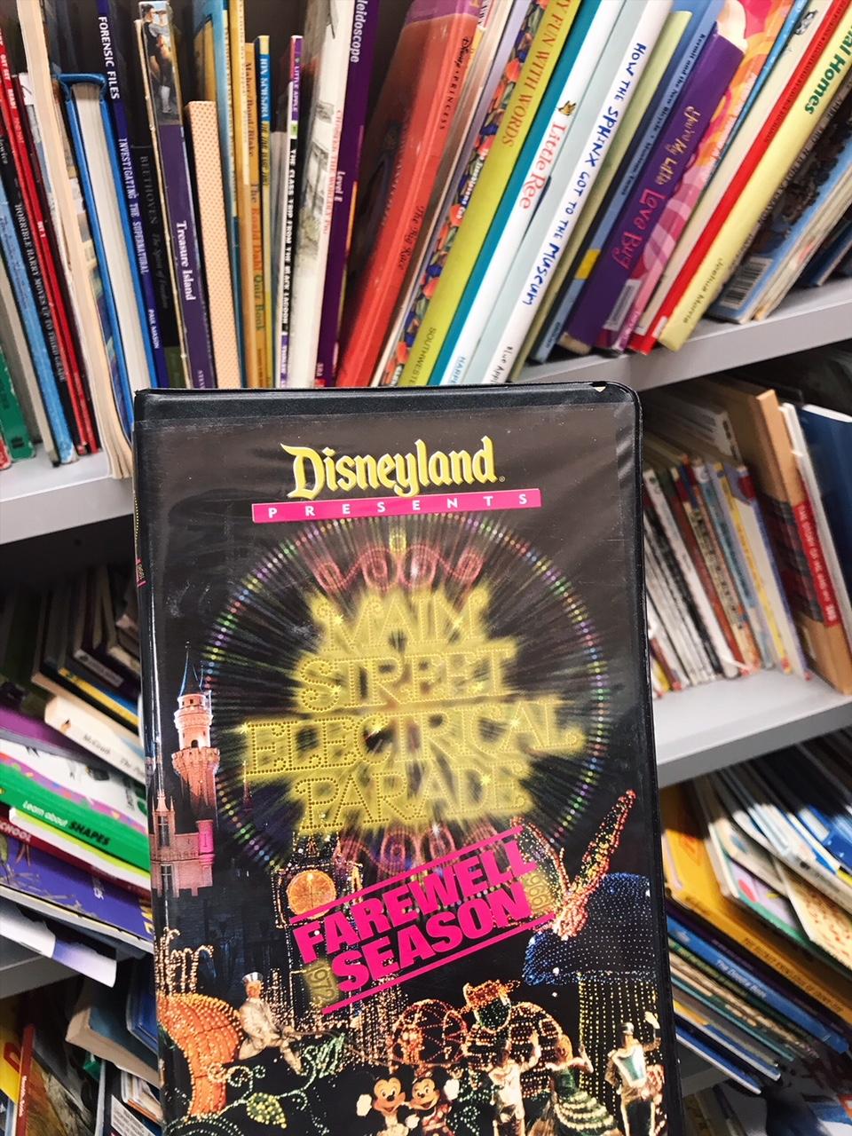 Vintage Disneyland VHS