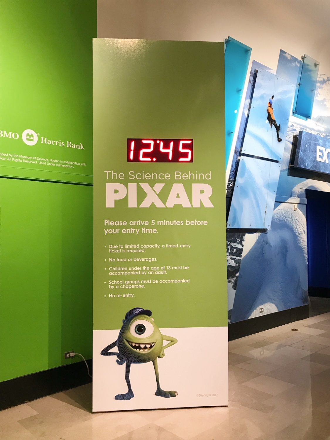 The Science Behind Pixar At The Museum Of Science And