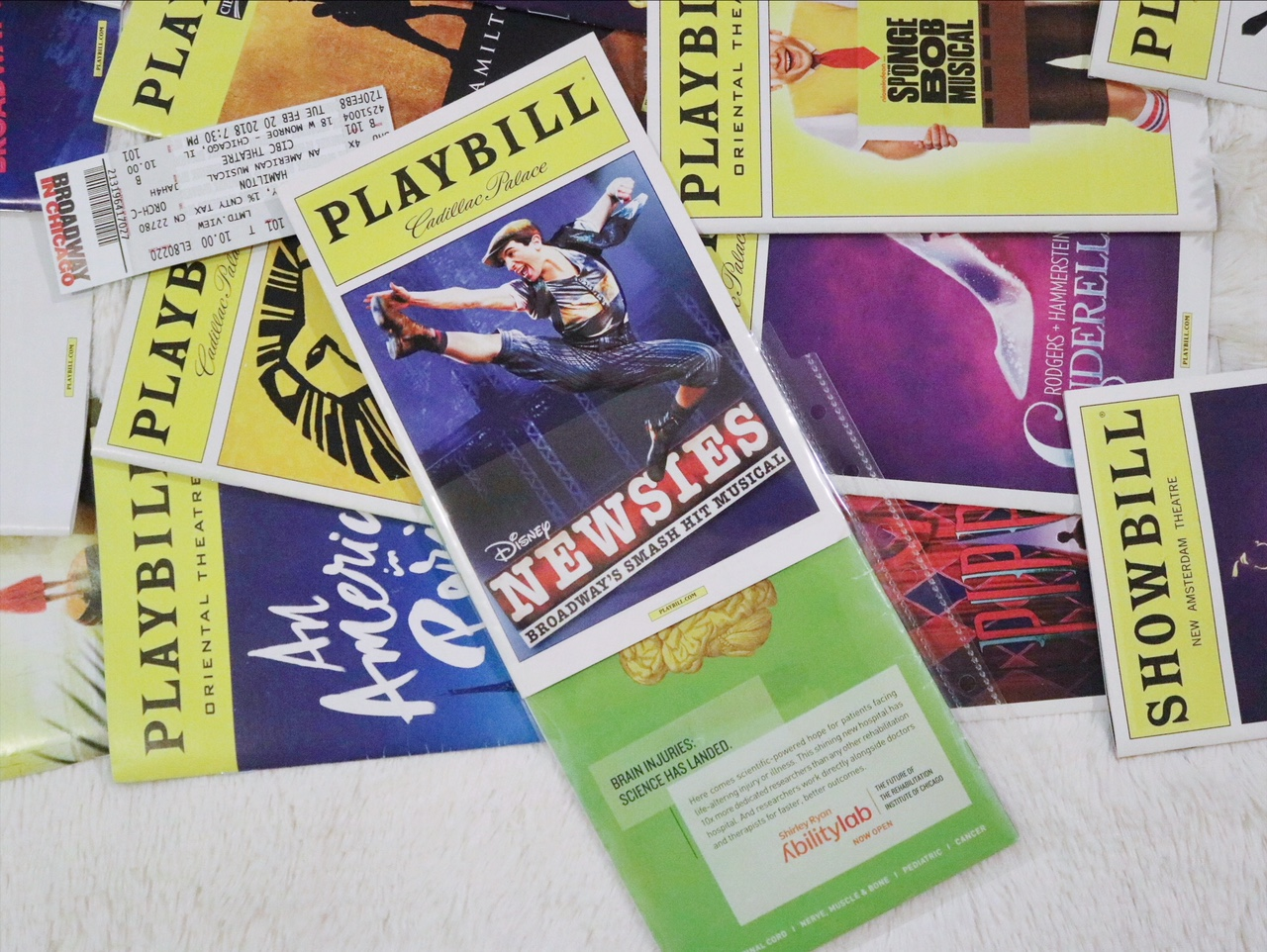 DIY Broadway Playbill Binder