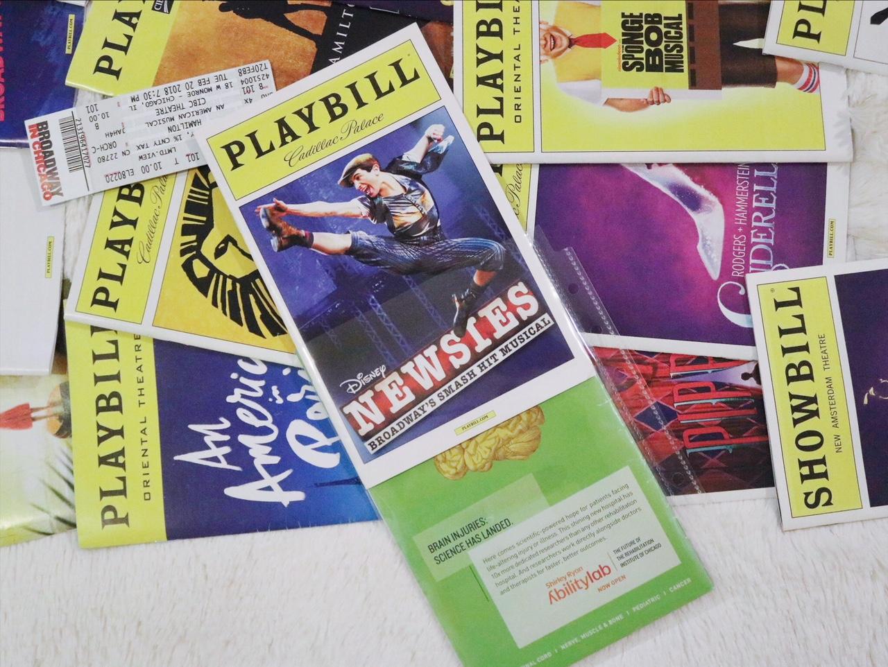 DIY Broadway Playbill Binder
