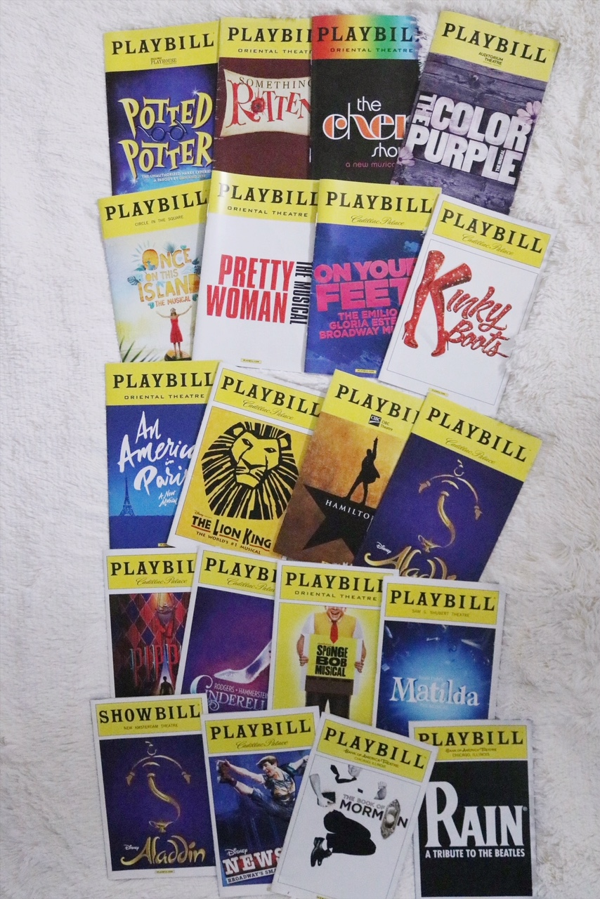 Broadway Playbill Collection