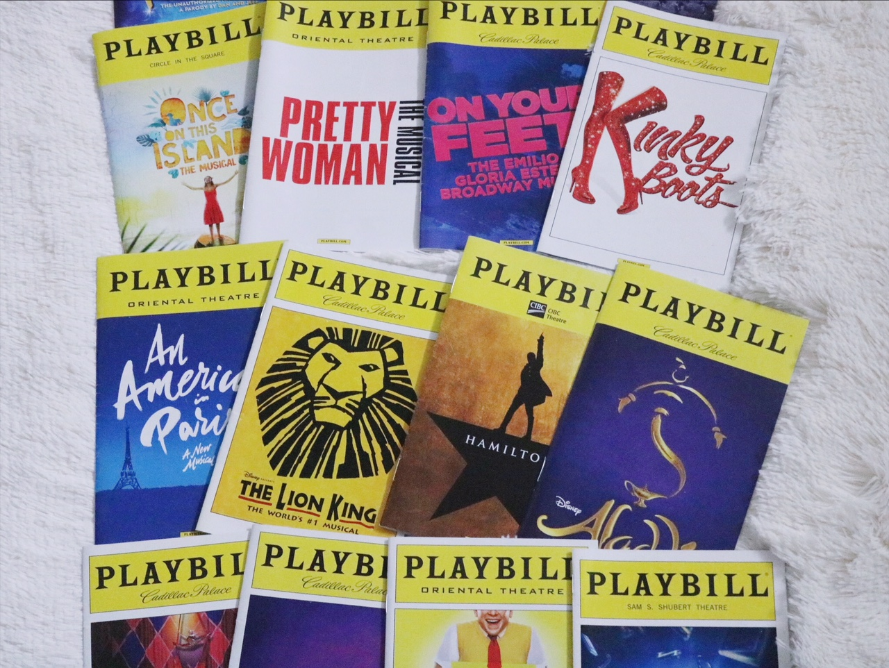 Organizing Your Playbill Collection