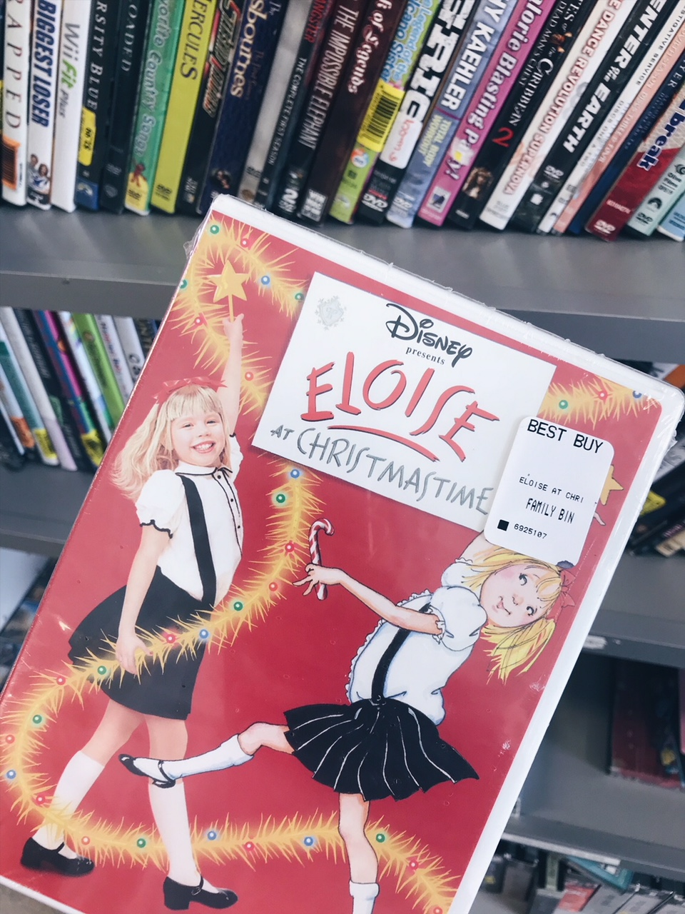 Eloise At Christmastime Vhs.Reliving My Childhood Thrifting Adventures Simply Sinova