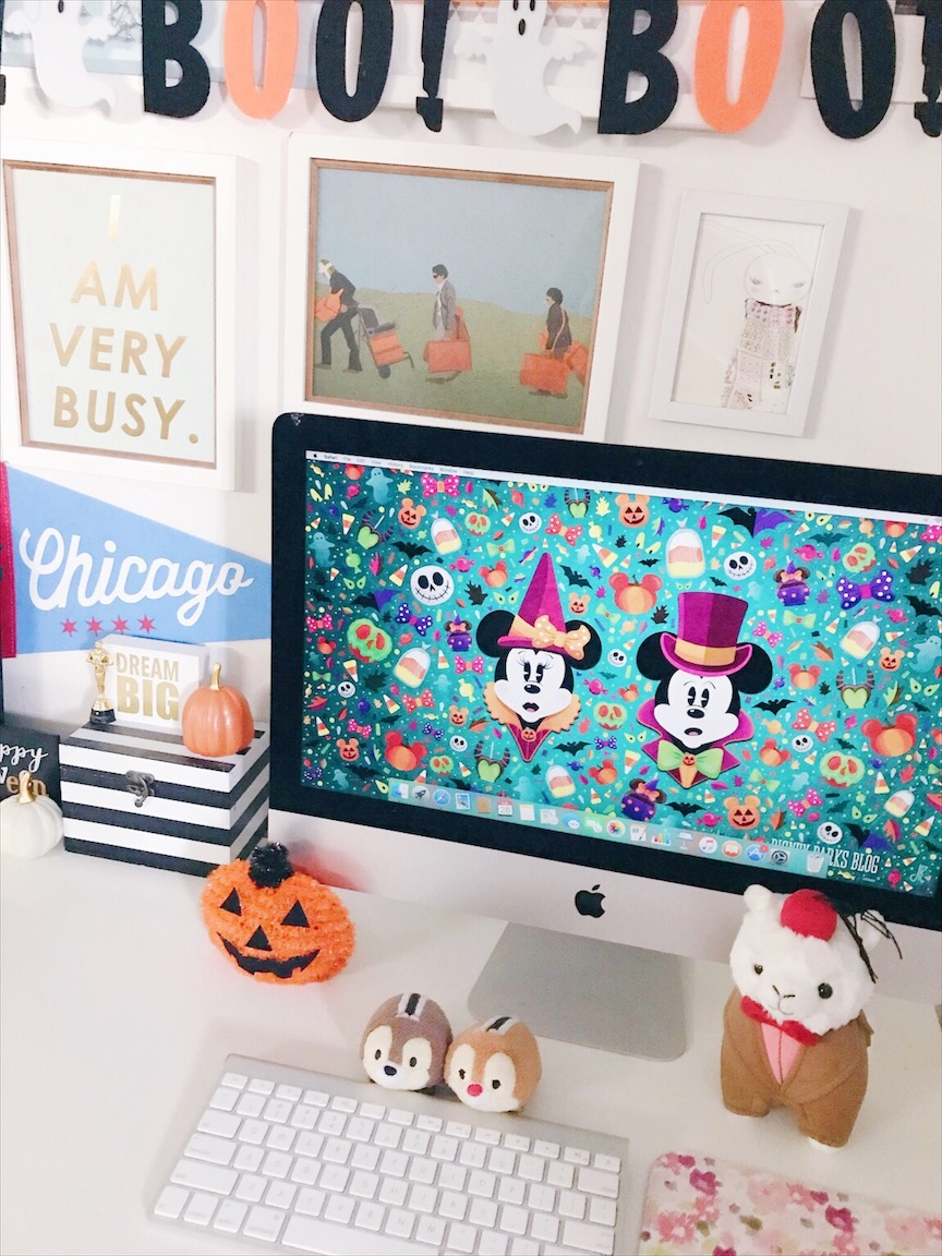 Halloween Disney Home Office Decor