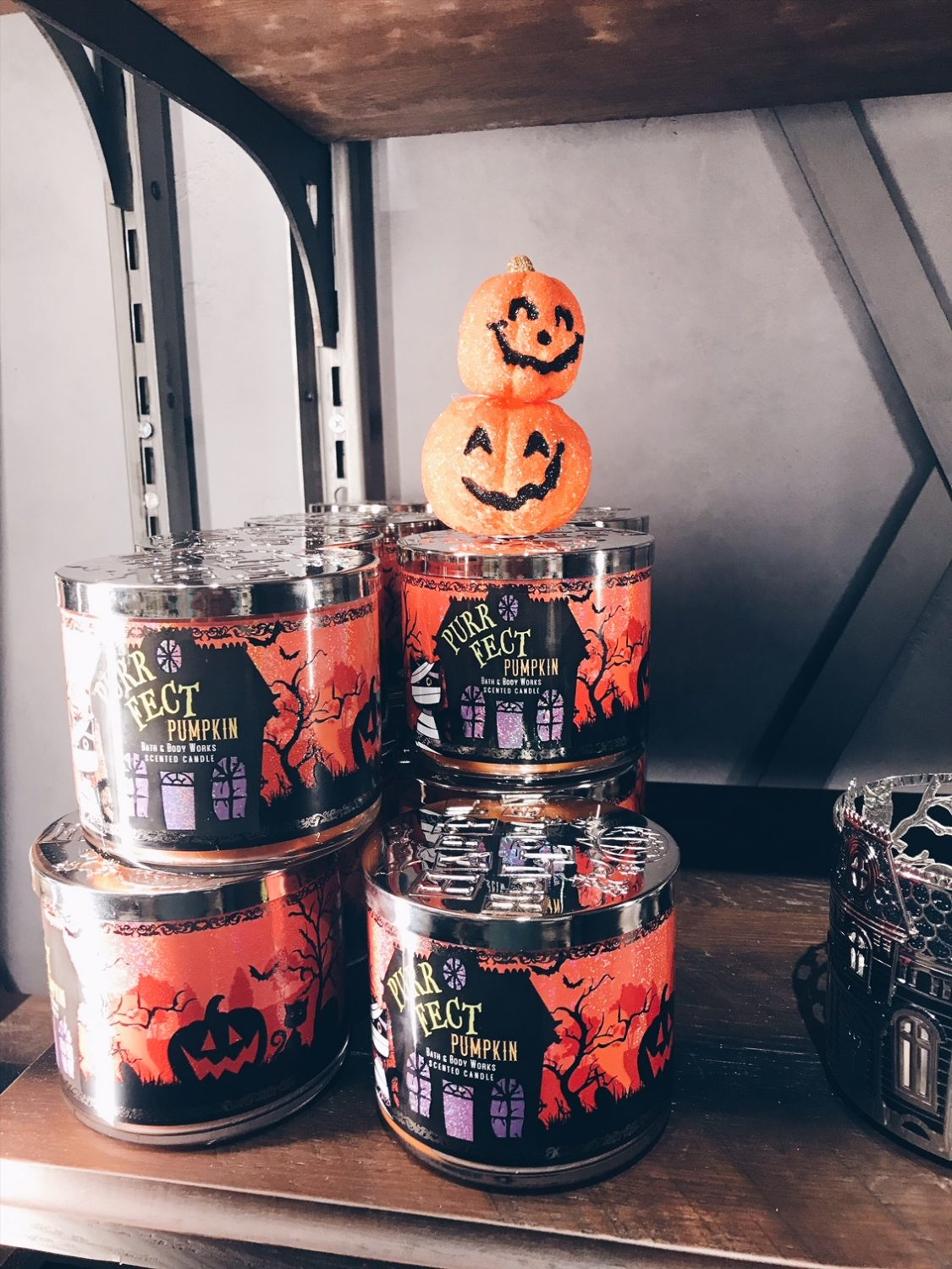Bath & Body Works Halloween Candles