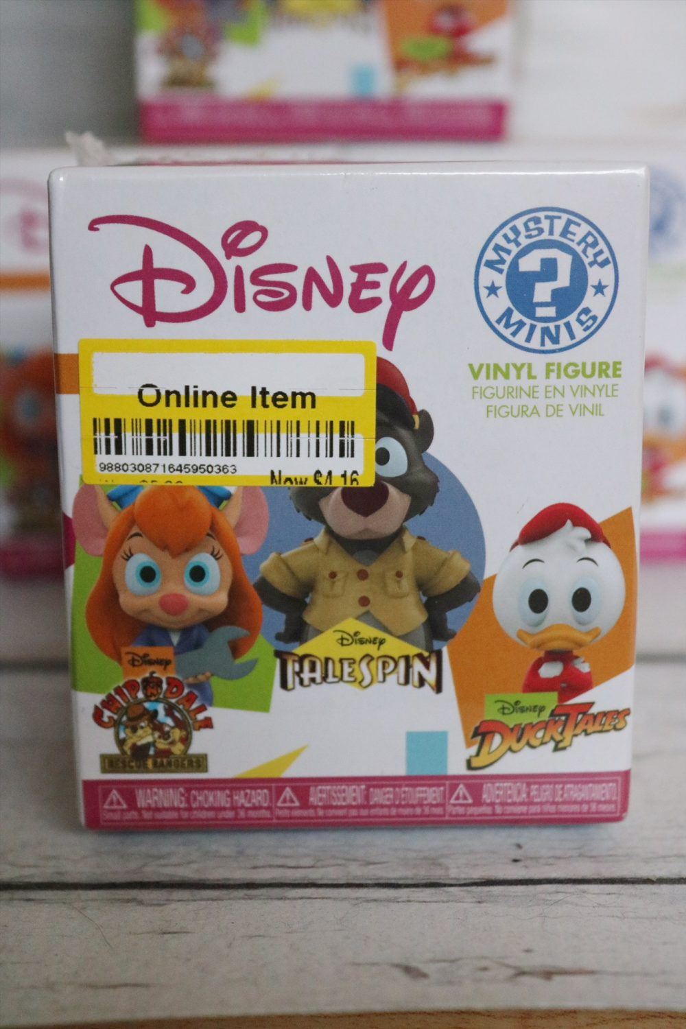 Funko Disney Afternoon Mystery Minis
