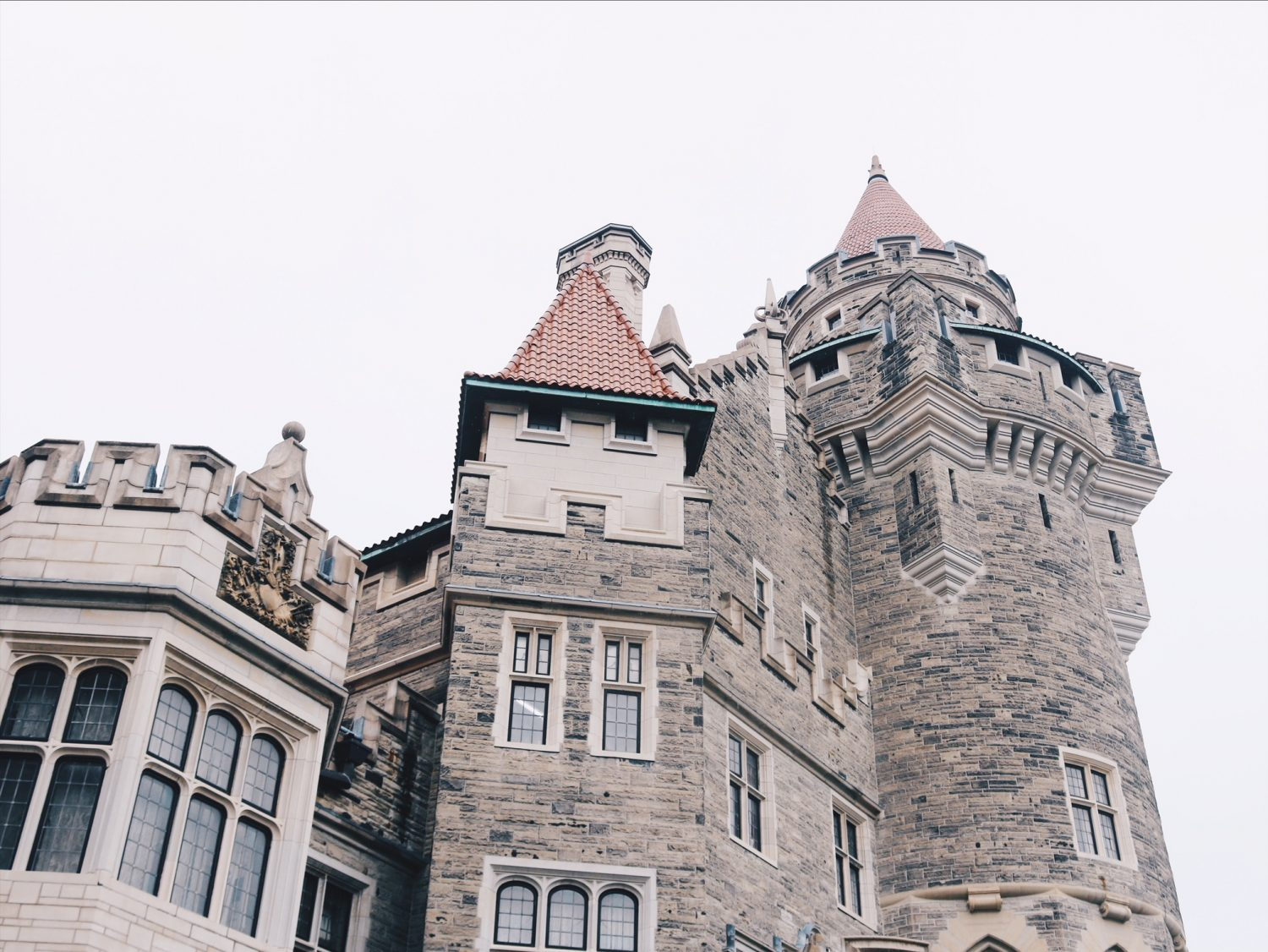 Visiting Casa Loma in Toronto