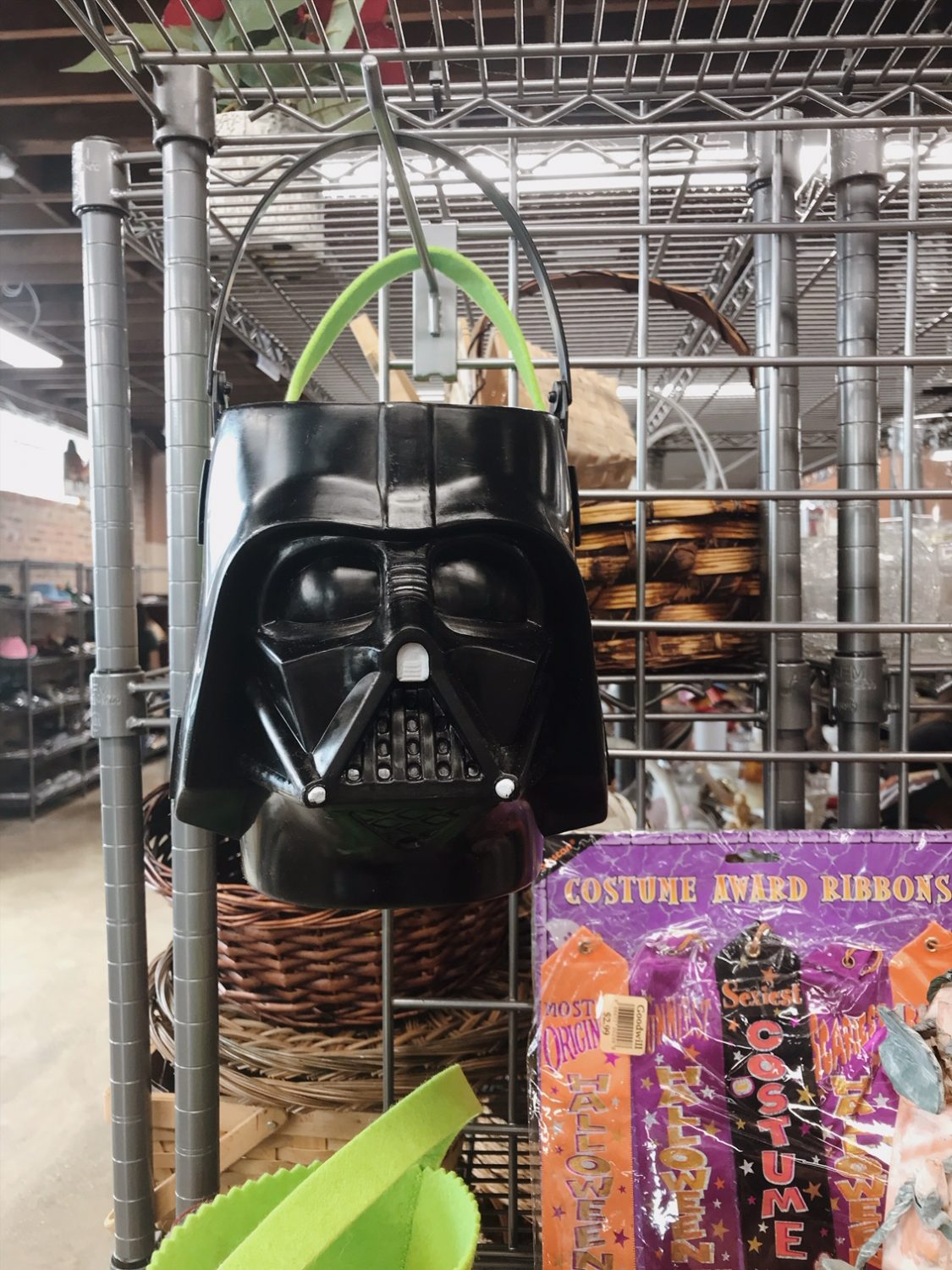 Vintage Star Wars Darth Vader Halloween Decor