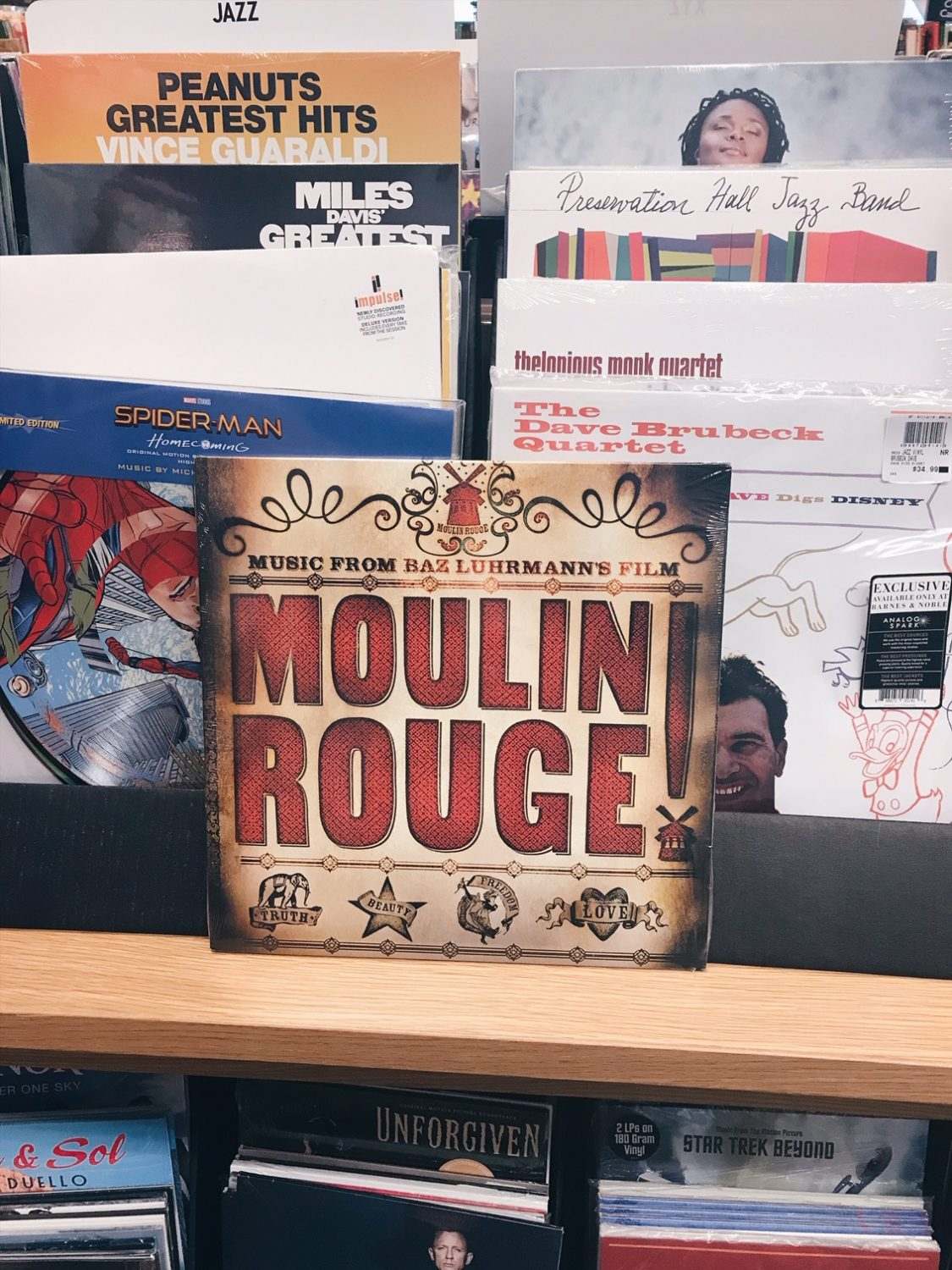 Moulin Rouge Soundtrack Vinyl Record