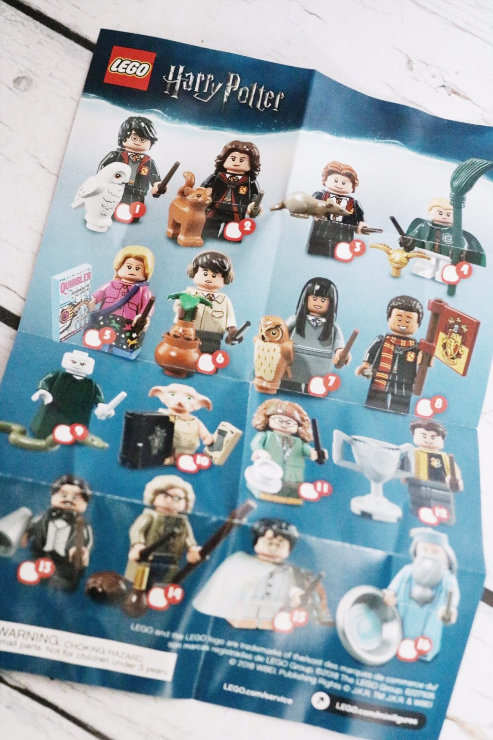 Harry Potter and Fantastic Beasts LEGO Minifigures