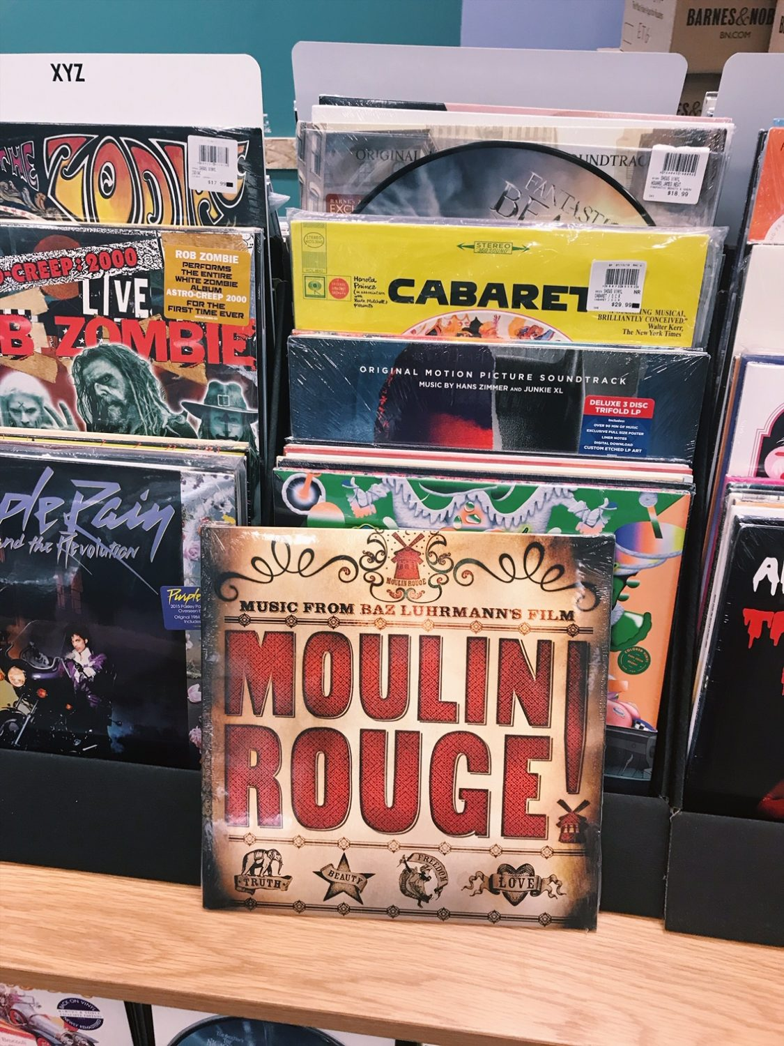 Moulin Rouge Soundtrack Vinyl Record at Barnes & Noble
