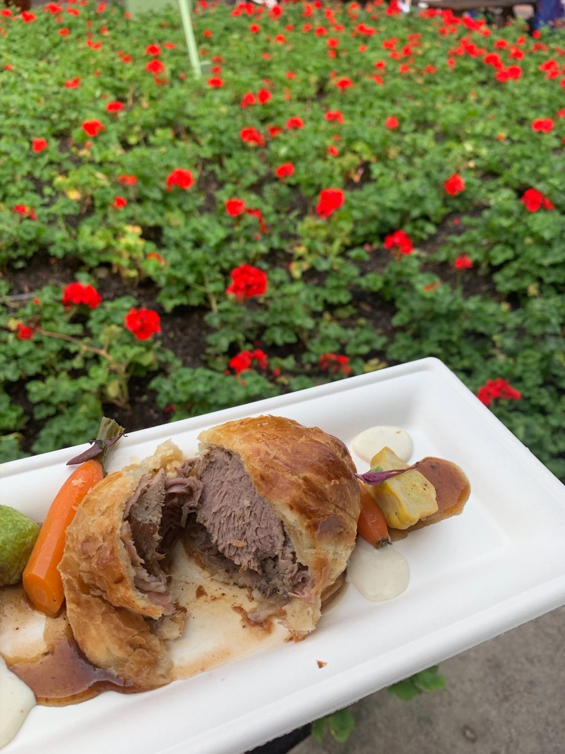 Epcot International Festival of the Arts Beef Wellington