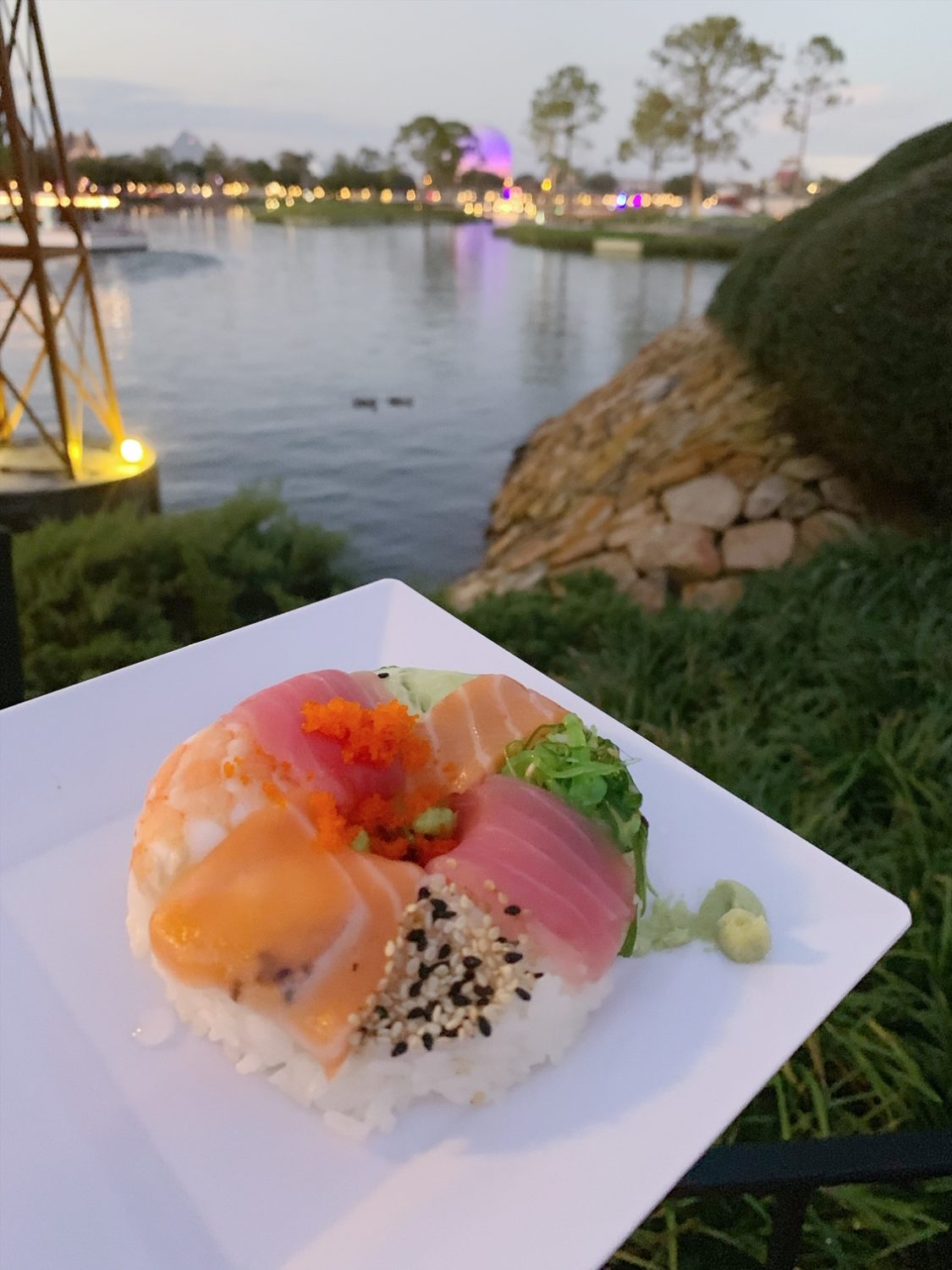 Epcot International Festival of the Arts Sushi Donut