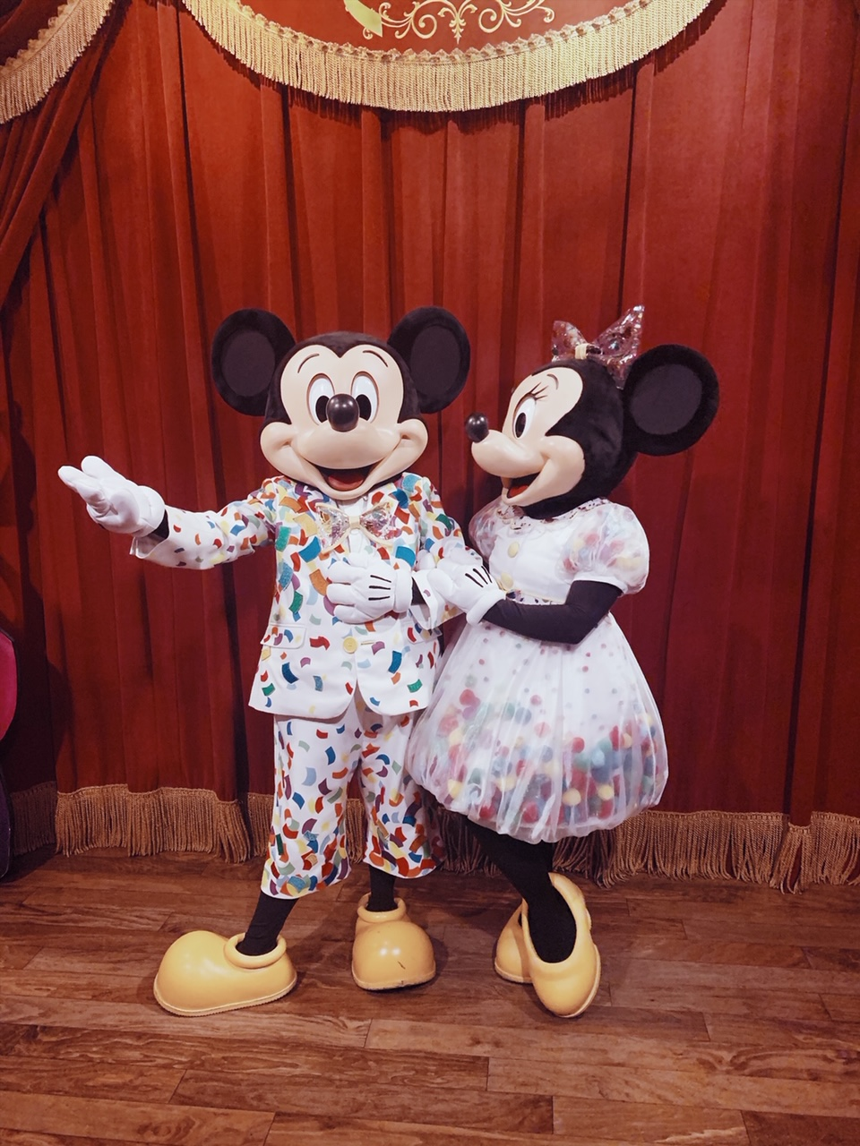 Disney World Mickey and Minnie 90th birthday outfit