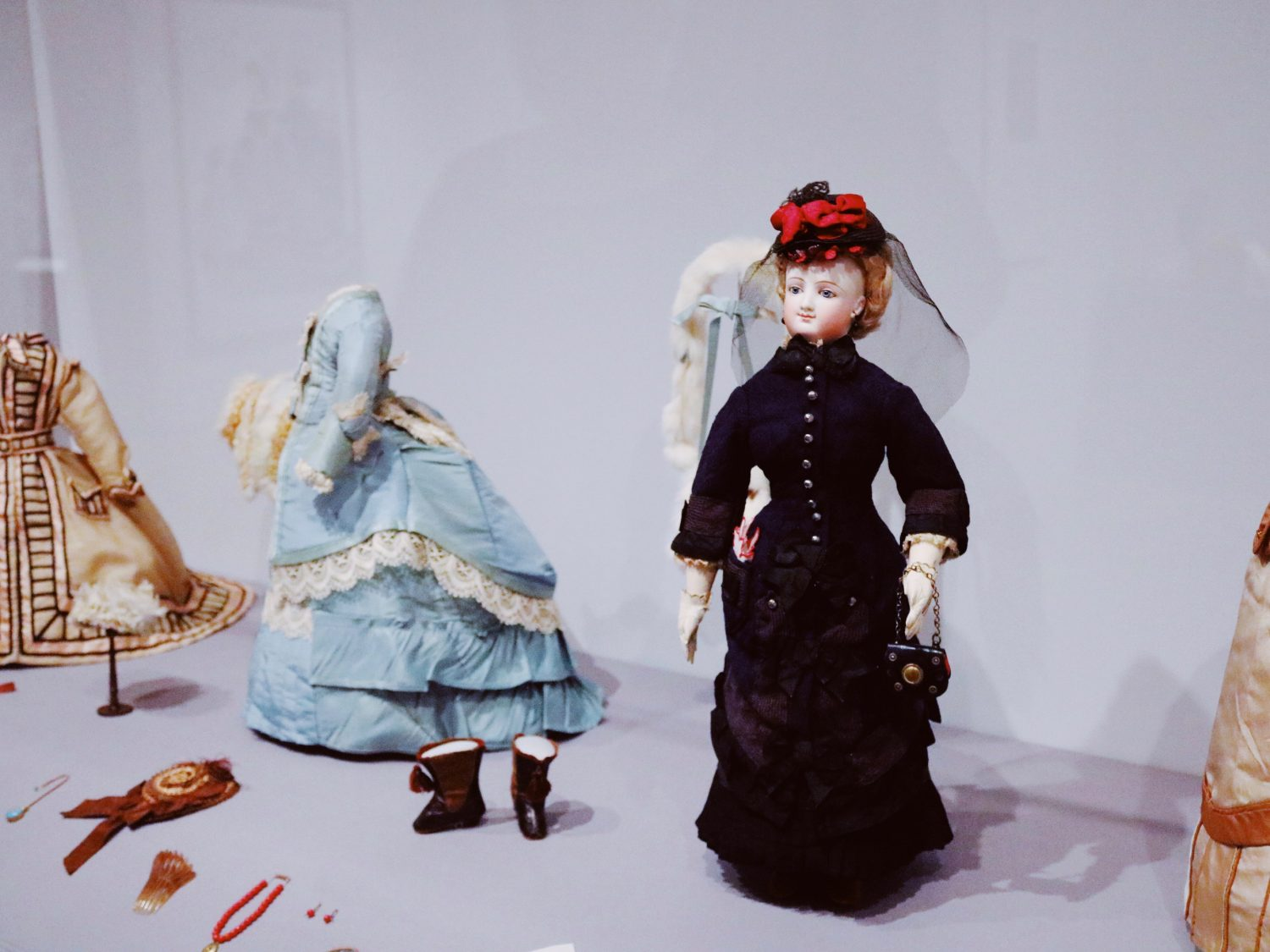 Little Ladies: Victorian Fashion Dolls and the Feminine Ideal exhibit